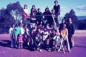 Fellowship Camp at Blackheath in 1970