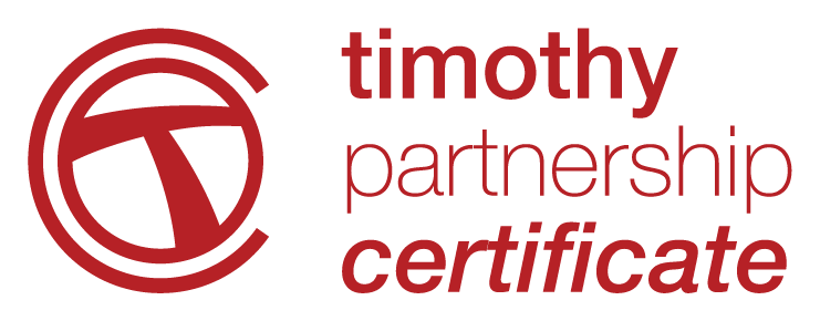 Timothy Partnership Certificate